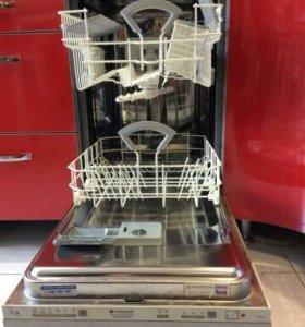 Посудомойка Ariston встроенная с сушкой Ap Li480A