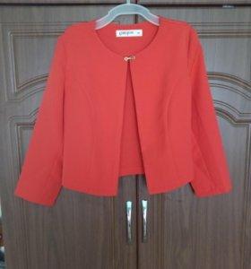 Пиджак красный Gloria Jeans