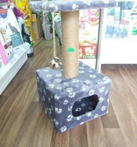 Домик когтеточка для кошки
