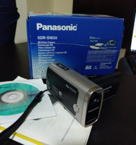 Видеокамера Panasonic SDR-SW 20