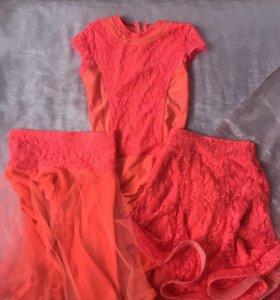 Платье для выступлений (бальные танцы)