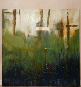 Картина (масло, холст, 150х150)