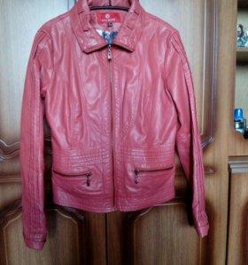 Куртка, женская, экокожа,  размер 44-46