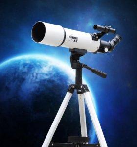 прокат телескопов микроскопов биноклей