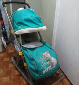 Санки-коляска Ника