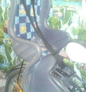 Кресло для перевозки ребенка на велосипед