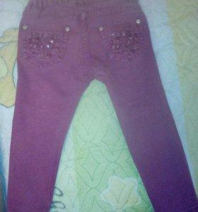 Детские летние джинсы