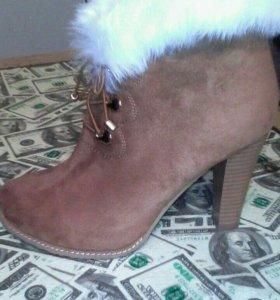 Ботинки новые,