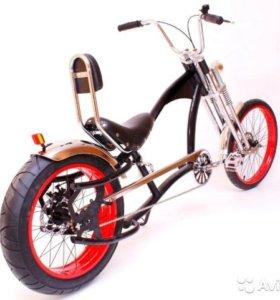 """Велосипед - Чоппер Challenger Red """"новый"""""""