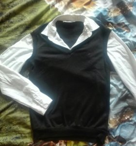 Рубашка с жакетом