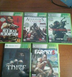 Диски лицензионные Xbox 360