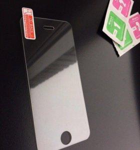 Защитное стекло для iPhone 5, 5s, 5se, 6, 6s, 7, 8