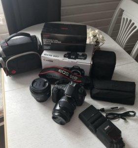 Фотоаппарат Canon 60D + комплектующие