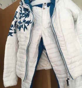 Комплект куртка,штаны(новые)