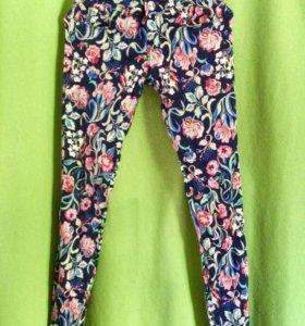 Цветные джинсики