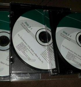 Установочные диски Acer TravelMate 2350/4050