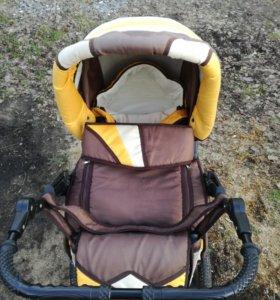 Детская коляска трансформер Riko Driver (По
