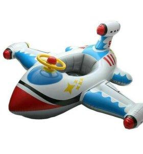 """Детская надувная игрушка для плаванья """"Самолетик"""""""