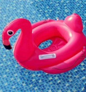 """Детская надувная игрушка """"Розовый фламинго"""""""