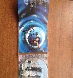 компакт-диск с автографом Валерия Леонтьева