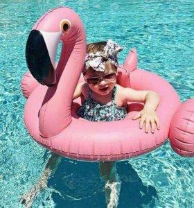 """Детская надувная игрушка """"Светло-розовый фламинго"""""""