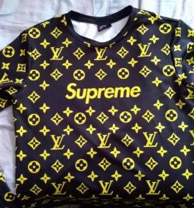 Свитшот Supreme&Louis Vuitton