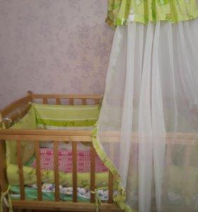Детская кроватка торг