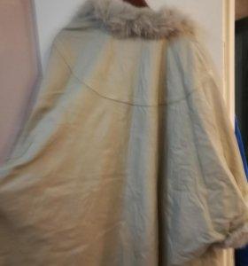 Пальто летучая мышь