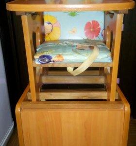 Столик со стульчиком для кормления