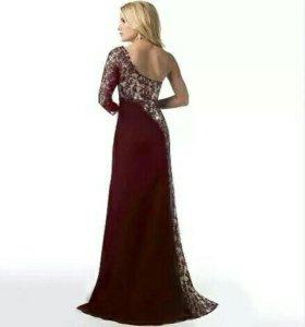 Новое вечернее платье в пол