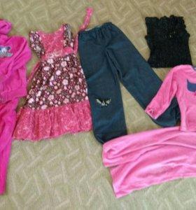 Вещи на девочку 5-7 лет