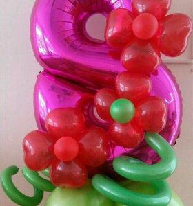 Воздушные шарики. Гелевые (гелиевые) шары