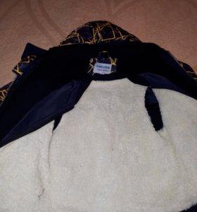 Зимный осенный весенный куртка-жилет