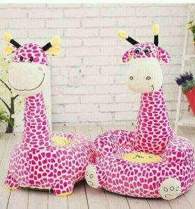 Детские пуфики Жирафы
