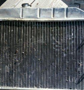 Радиатор медный на УАЗ