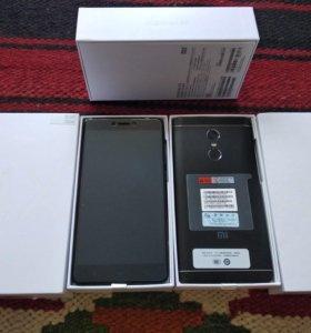 Xiaomi Redmi Note 4X 3-32Гб чёрный+ чехол