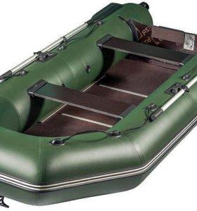 Моторная лодка Аква 2800 с мягким сиденьем