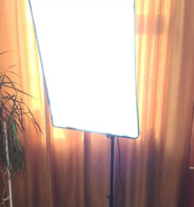 Софтбокс 50*70 новый с лампами