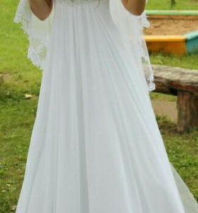 Платье свадебное в греческом стиле.