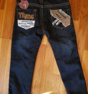 Джинсовые штаны новые