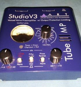 Ламповый усилитель StudioV3, микрофон и провода