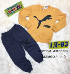 Костюм. Футболка и штаны
