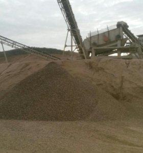 Песок-щебеть-торф