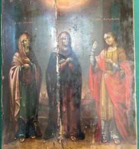 Икона Мария Иаковлева,Египетская и Магдалина