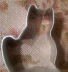 Форма для выпечки котенок кот кошка