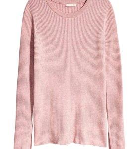 Новый свитер джемпер H&M хлопок и вискоза