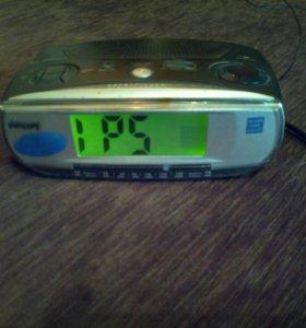 Часы будильник радио
