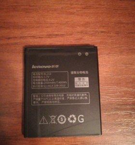 Новая батарея леново 536