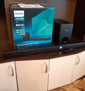 Philips HTL2183B/12 black Саундбар + Сабвуфер