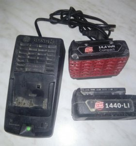 Аккумуляторы и зарядка на BOSCH